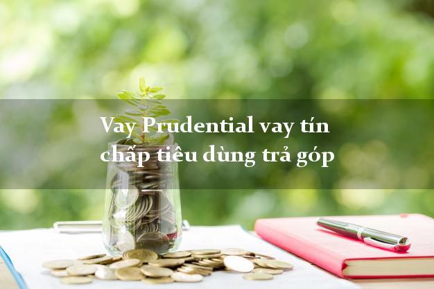 Vay Prudential vay tín chấp tiêu dùng trả góp